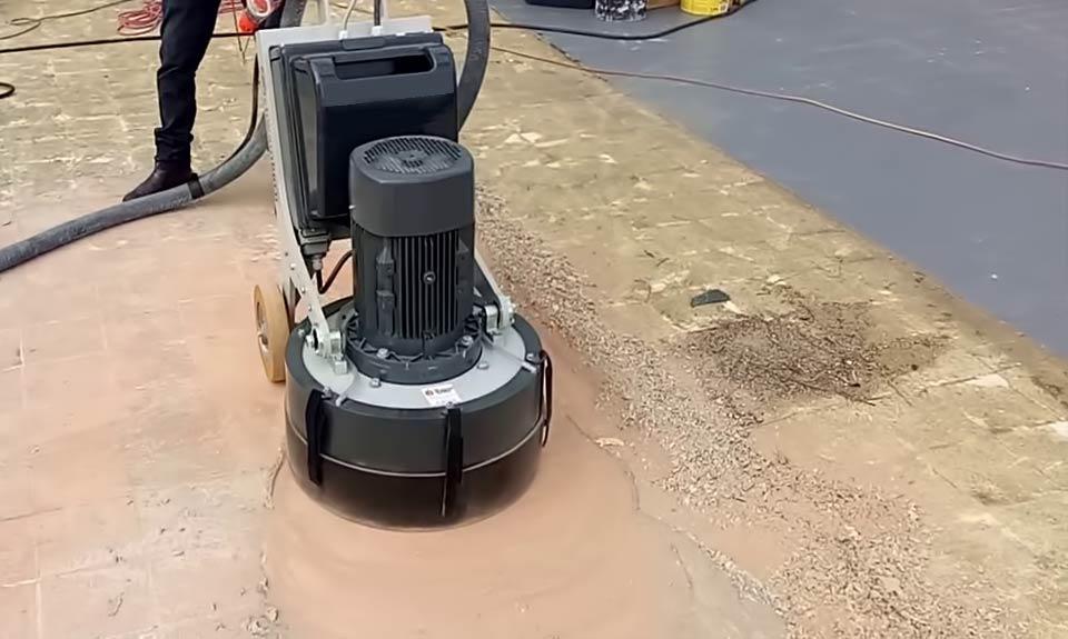 Brusenje betona