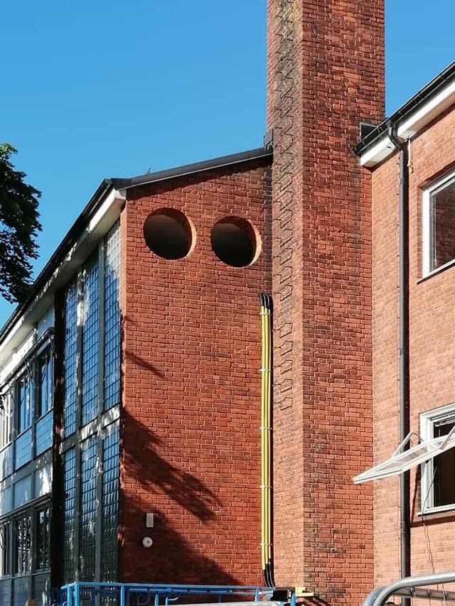 Busenje rupa na institutu fi 600 mm