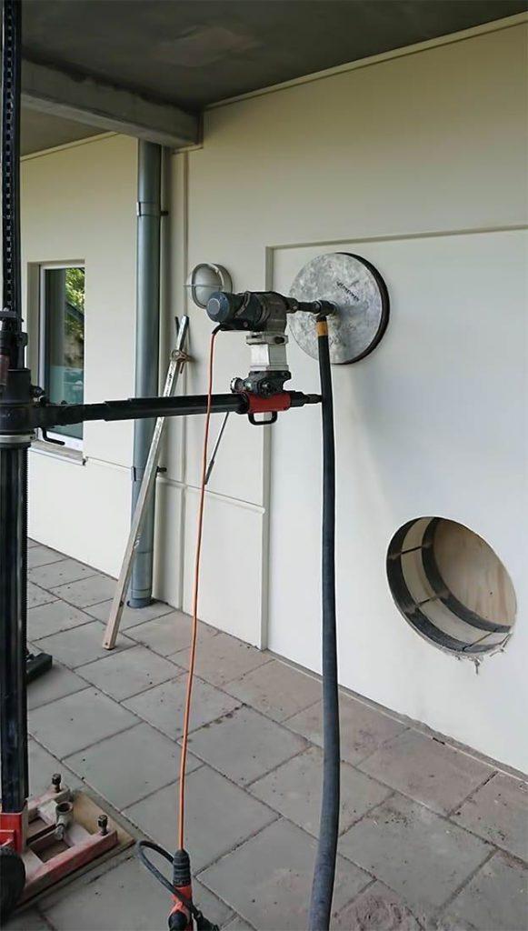 Busenje rupa za ventilaciju