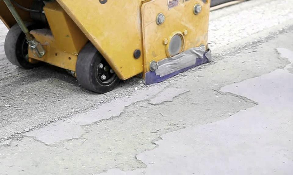 Frezanje betona