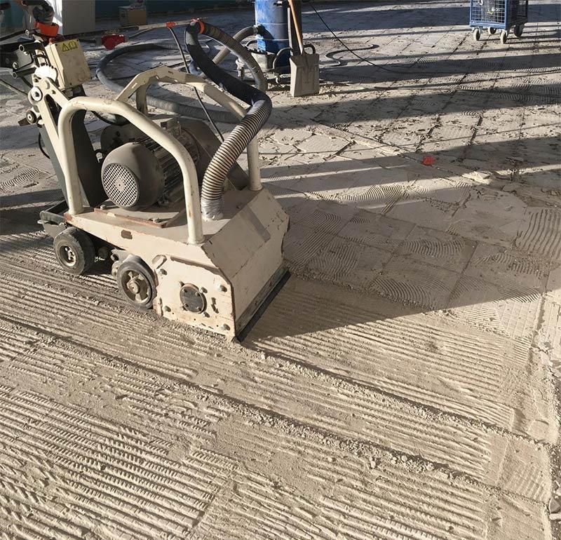 Glodanje betona