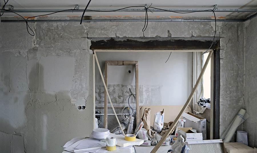 Izrezan zida za prosirenje vrata metalno ojacan