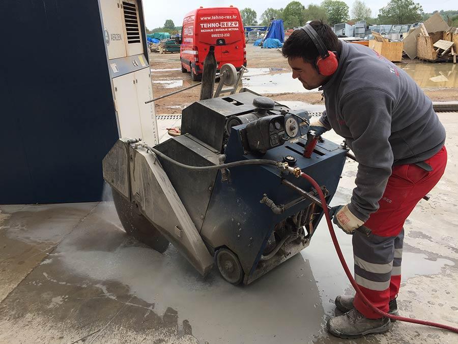 Rezanje betona TEHNO REZ