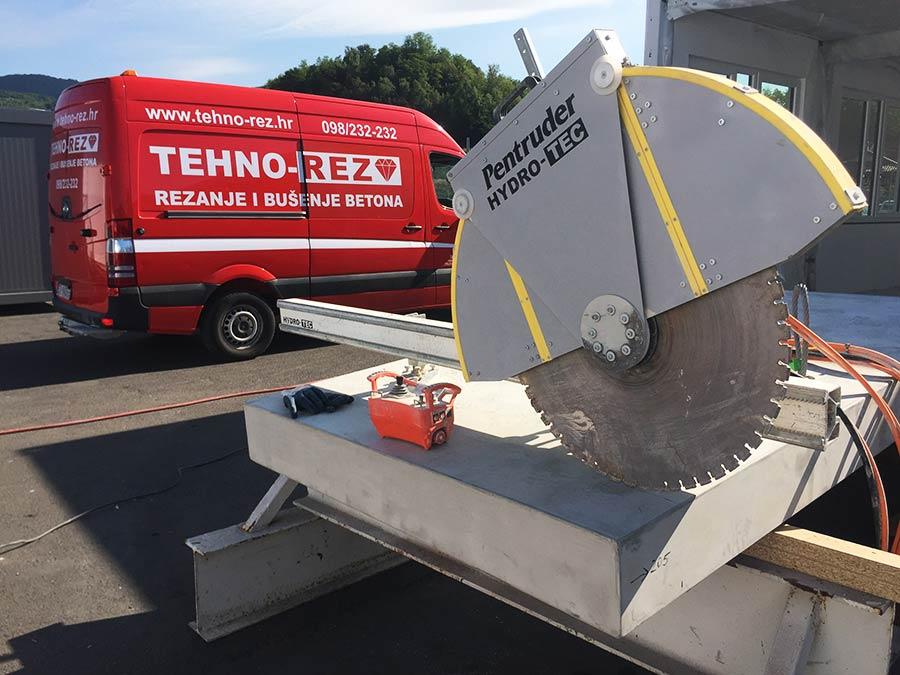 TEHNO REZ rezanje betona
