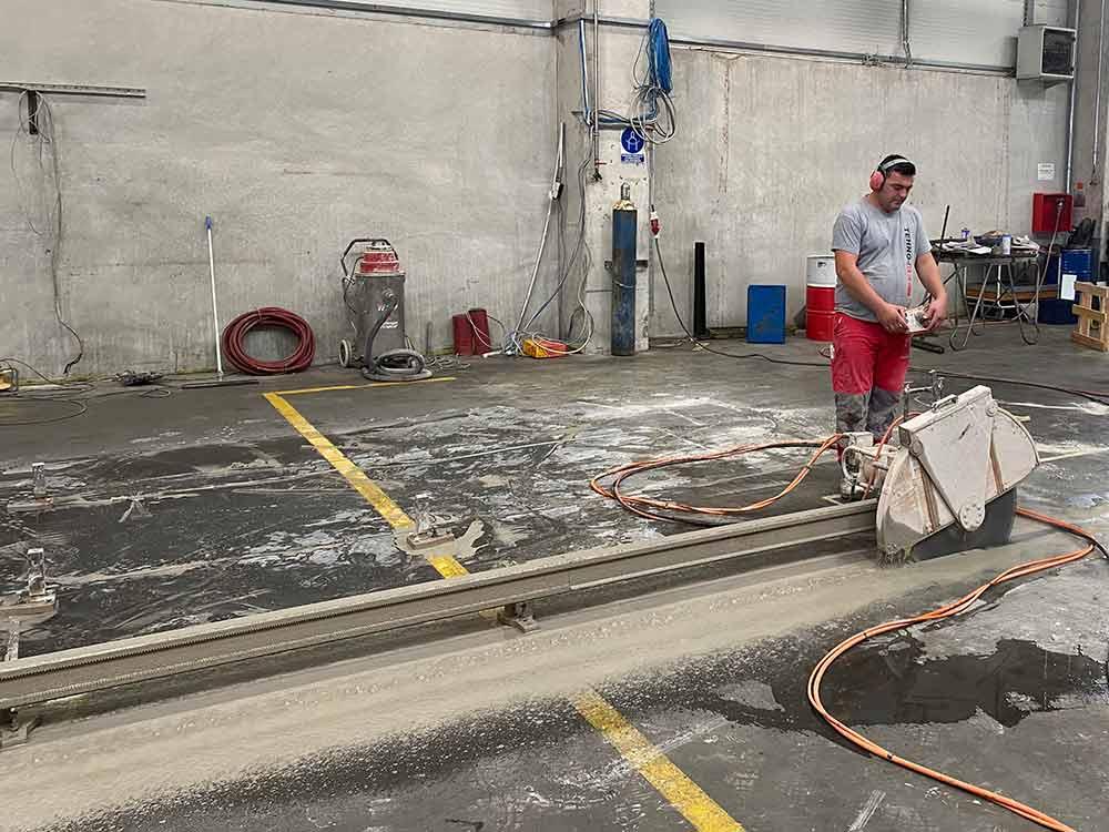 Rezanje armirano betonske ploce